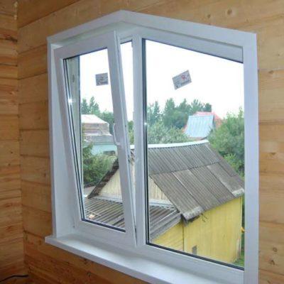 Окно в виде трапеции