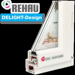 Пластиковые окна Rehau Delight Design